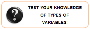 Test your knowledge of Types of Variables
