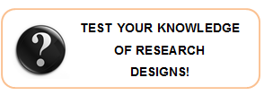 Test your knowledge of Research Designs