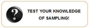 Test your knowledge of Sampling